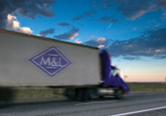 M&L Offers Domestic Trucking